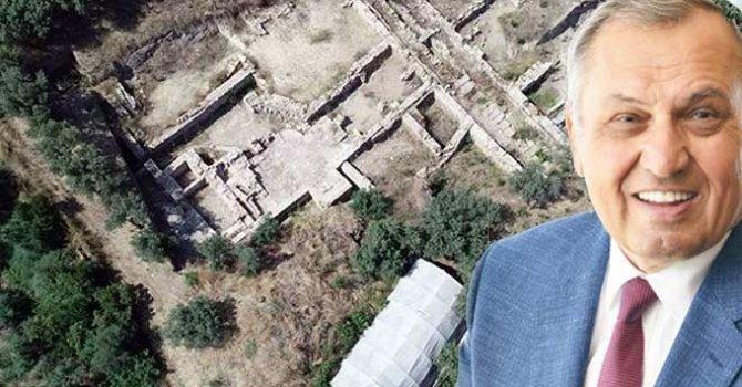 Antik kentin üzerine inşa edilen AVM için çifte standart