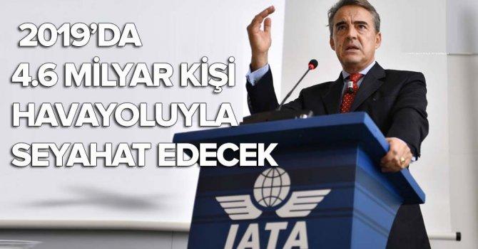 IATA:Havacılık sektörü2019'da35.5 milyar dolara yükselecek