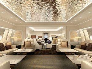 Boeing, dünyanın en uzun uçan iş jetini üretti