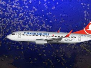 THY'nin 5 seferinde yolcular yeni yılı iki kere kutladı