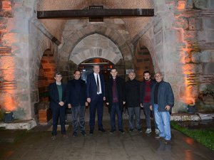 Bursa'da 625 yıllık Issız Han otel olarak turizme açıldı