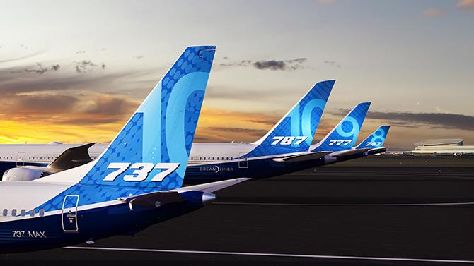 Boeing'te 208'de101,1 milyar dolarlık rekor gelir