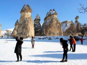 Kapadokya, 123 bin turist ile 10 yılın rekorunu kırdı