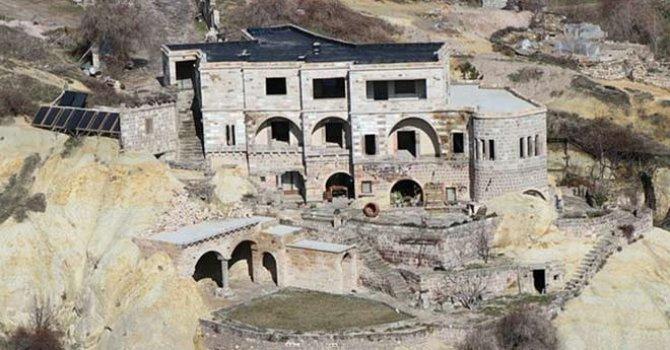 Kapadokya'da Belediye Başkan adayınınoteli de kaçak çıktı!