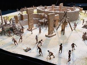 1600 saatte yapılan Göbeklitepe'nin maketi hazır