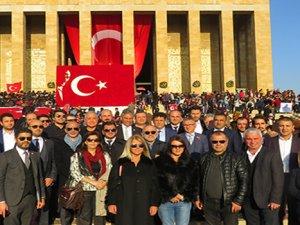 TÜRSAB'ın muhalefeti Anıtkabir'de buluştu.