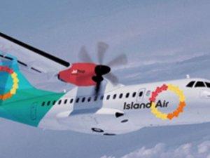 Dev havayolu Island Airiflas etti