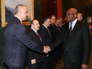 Burkina Faso Cumhurbaşkanı Kabore, Ankara'ya geldi