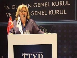 TTYD'deOya Narin yeniden başkan seçildi
