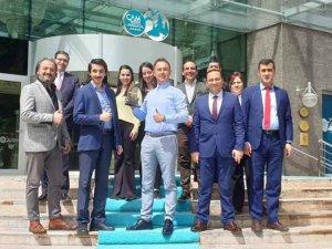 """Çam Otel """"Yılın Termal Oteli"""" ödülü aldı"""