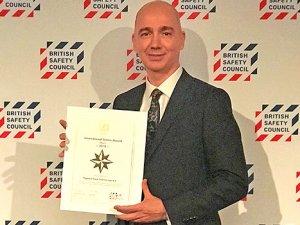 Pegasus'a İngiltere'den Uluslararası İş Güvenliği Ödülü