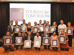 WTTC'den '2019 Yarın İçin Turizm' ödülleri verildi