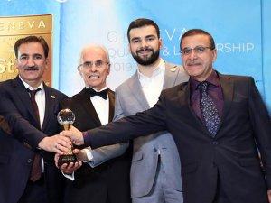 Antalyalı dönerci 'Hamdi Usta' Cenevre'de 'Altın Yıldız' ödülüaldı