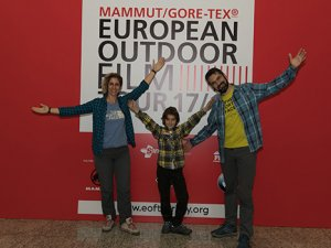European Outdoor Film Tour Turkey heyecanı