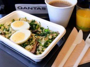 Qantas Havayolları ilk 'sıfır atıklı' uçuşunu yaptı