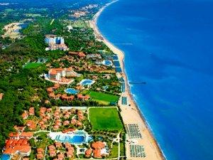 Antalya'da Belek ve Kadriye yılda 2 milyon turist ağırlıyor