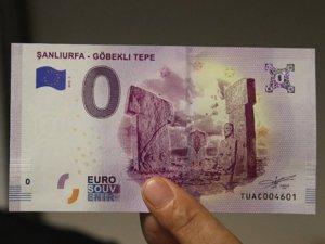 Göbeklitepe, hatıra amaçlı Euroya basıldı