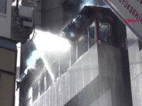 Eskişehir'de otelinmutfağındançıkan yangın paniğe yol açtı