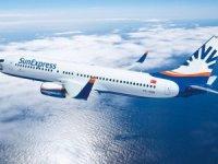 SunExpress'in ilk A320 uçağı ilk uçuşunu gerçekleştiriyor