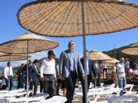 Kültür ve Turizm Bakanlığı'nın ilk halk plajı Bodrum'da açıldı