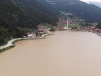 Ünlü turizm merkezi Uzungöl, çamurgöl oldu