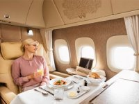 Emirates'in yeni First Class kabinleri