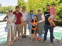 Yargıtay Başkanı ve ailesinin Manavgat Şelalesi heyecanı