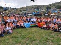 Türk dünyası Burdur'un Aziziye Yayla Şenliği'nde