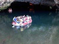 Yolu yapılan AltInbeşik'i bir yılda 66 bin turist ziyaret etti