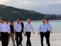 BAKA yönetimi toplantıyla, Salda Gölü'nün tanıttı