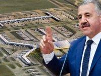 BakanArslan:3. havalimanının %73'ütamam