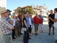 Tarihi hatıllı taş evleri turistlerin gözdesi oldu