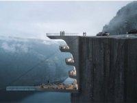 600 metrelik uçurumun kenarına otel inşa edecekler