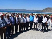 Chp'li Arı: Salda Gölü'nü ranta kurban verdirmeyeceğiz