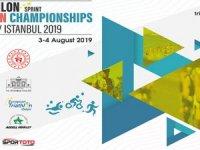 Triatlon Balkan Şampiyonası İstanbul'da yapılıyor