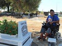 Gazipaşa mezarlığı engelli ziyaretçilere açıldı