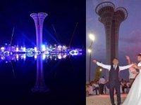 İki milyar liralık fuar merkezi düğün salonu oldu!