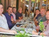 Turizmciler yemekte 'Turizm Televizyonu'nu ve turizmitartıştı