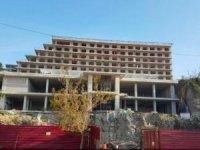 Boztepe'deki otel inşaatı yine gündemde…