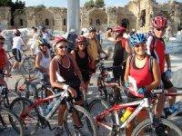 Alman Ottmann'ların öncülüğü ile bisiklet sporu gelişti