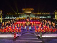 Çin'in 3.100 yıllık antik başkenti Xi'an'da gece turizmi