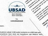 UBSAD, THY'nin kampanyasını Cumhurbaşkanlığına taşıdı