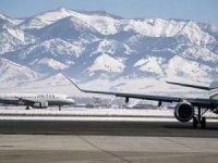 Havalimanıpistine kar yağışı içinsensor konuldu