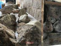 Bozdoğan Kemeri'nde tarihi eserler ortaya çıktı