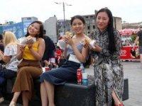 Koreli turistler rotayıTürkiye'ye çevirdi