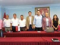 TÜRSAB Batı Antalya Bölge Başkanı yeniden Rıza Perçin