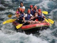 Manavgat doğal rafting parkuru ile dünyayı çekiyor
