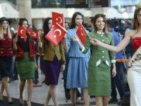 Esenboğa Havalimanı'nda Cumhuriyet rüzgarı esti