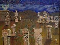 Göbekliepe, Sedef Yavuzalp'in eserlerinde farkı yaşıyor