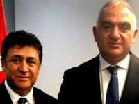 Türsab Başkan Adayı Hasan Erdem, WTM'de Bakan Ersoy ile görüştü